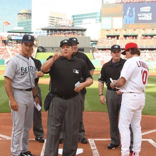 UMPS CARE AUCTION: Lunch with an Ump - You make the Call