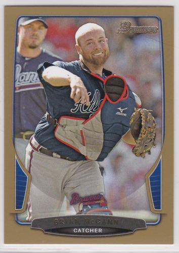 Photo of 2013 Bowman Gold #47 Brian McCann -- Astros post-season