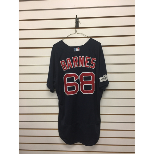 Photo of Matt Barnes Game-Used September 22, 2017 Road Alternate Jersey