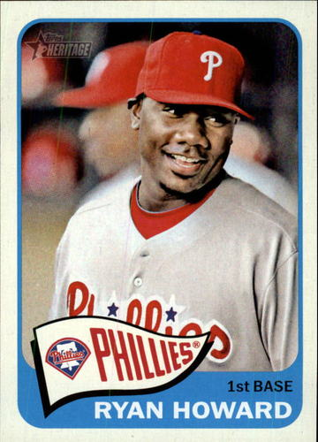 Photo of 2014 Topps Heritage #280 Ryan Howard
