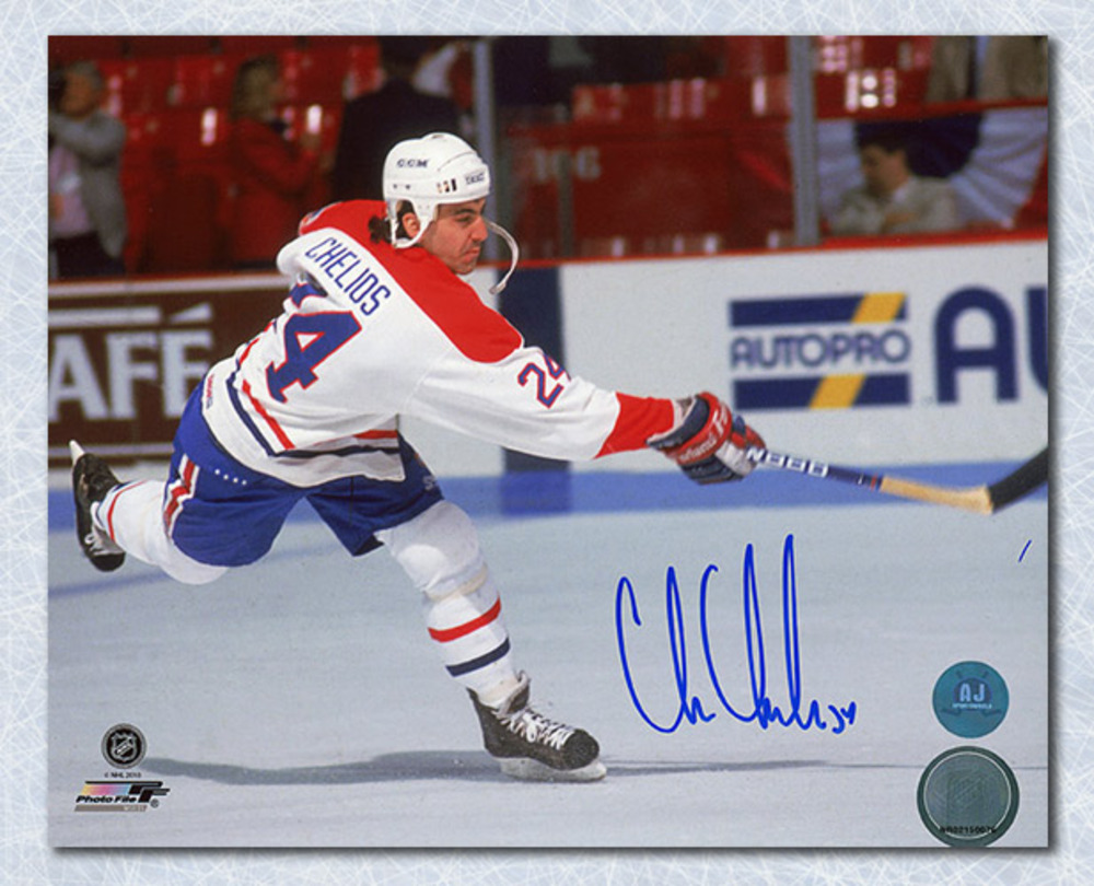 Chris Chelios Montreal Canadiens Autographed 8x10 Photo