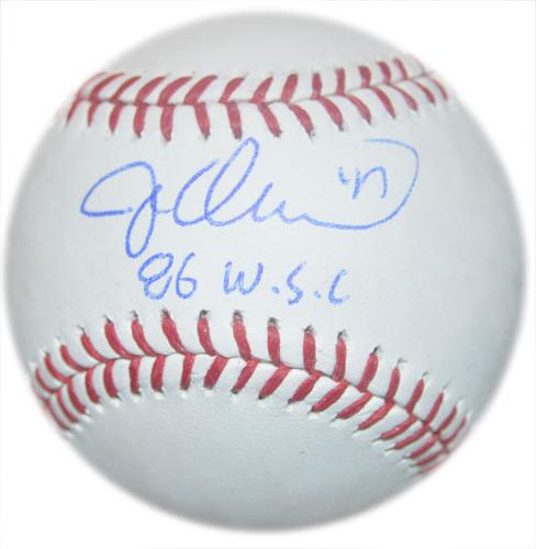 Jesse Orosco - Autographed Major League Baseball - Inscribed