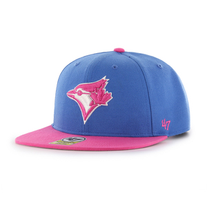Youth Lil Shot Two Tone Snapback Cap Lt.Blue/Pink by '47 Brand