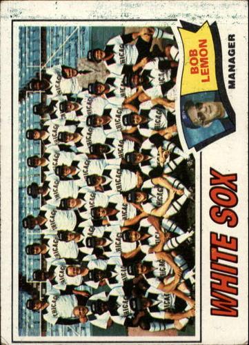 Photo of 1977 Topps #418 Chicago White Sox CL/Bob Lemon MG