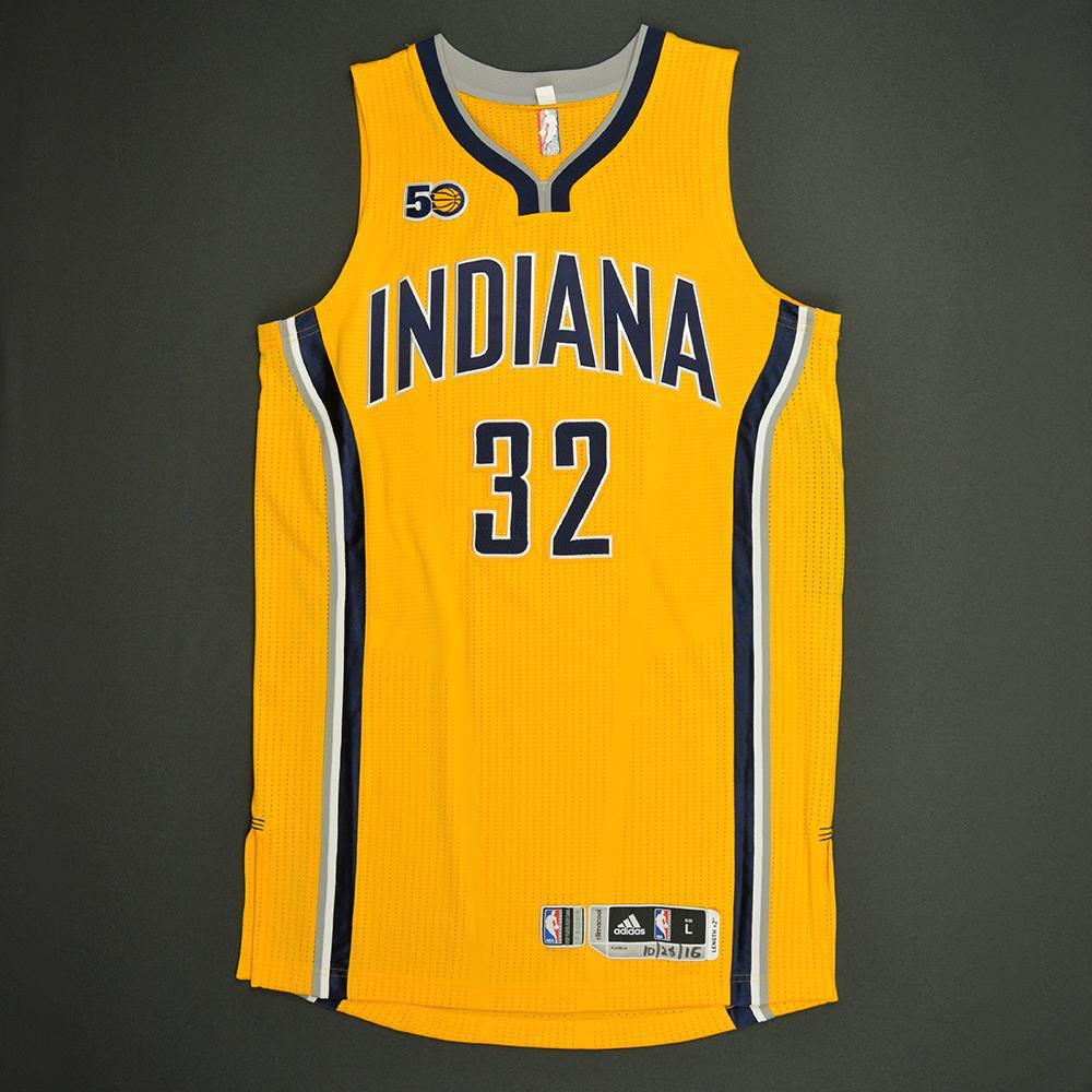 Georges Niang - Indiana Pacers - Game-Issued Rookie Season Jersey - 2016-17 Season