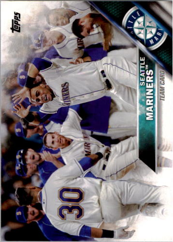 Photo of 2016 Topps #79 Seattle Mariners