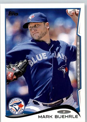 Photo of 2014 Topps #30 Mark Buehrle