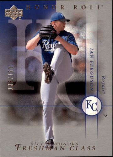 Photo of 2003 Upper Deck Honor Roll Silver #155 Ian Ferguson FC RC 136/150