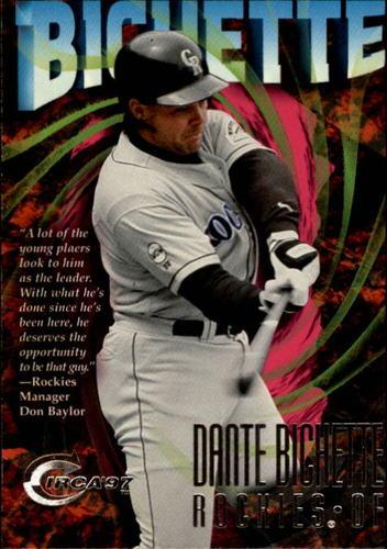 Photo of 1997 Circa #172 Dante Bichette