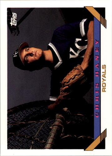 Photo of 1993 Topps #581 Chris Haney