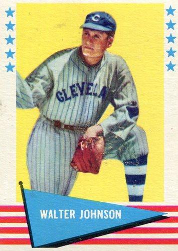 Photo of 1961 Fleer #49 Walter Johnson