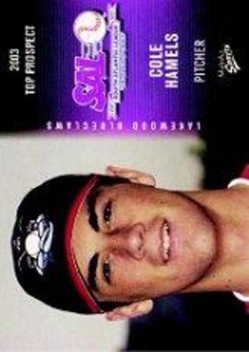 Photo of 2003 South Atlantic League Prospects Multi Ad #14 Cole Hamels