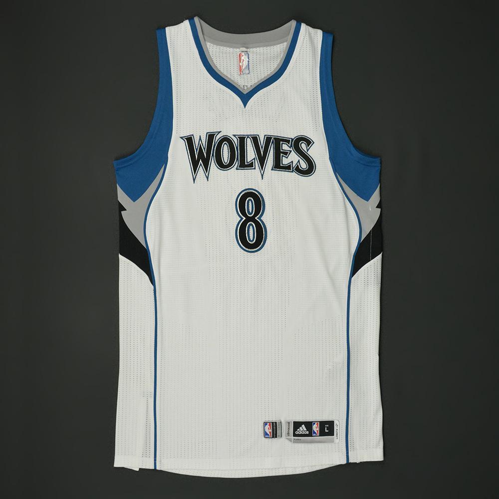 Zach LaVine - Minnesota Timberwolves - Game-Worn Regular Season Jersey - 2016-17 Season