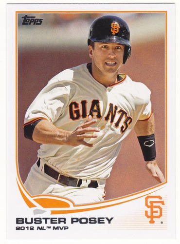 Photo of 2013 Topps #455 Buster Posey