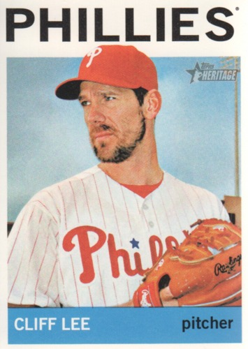 Photo of 2013 Topps Heritage #16 Cliff Lee