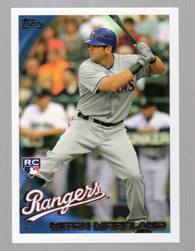 Photo of 2010 Topps Update #US202 Mitch Moreland RC