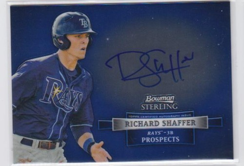 Photo of 2012 Bowman Sterling Prospect Autographs #RS Richard Shaffer