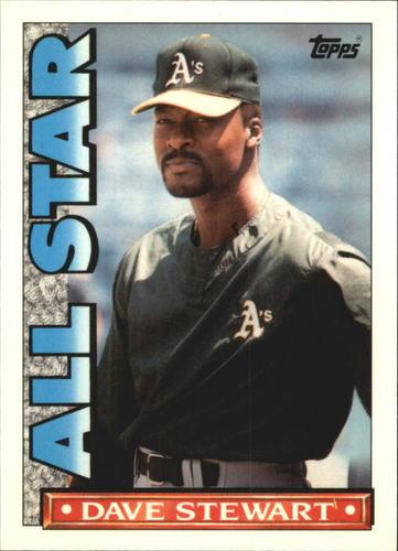 Photo of 1990 Topps TV All-Stars #16 Dave Stewart