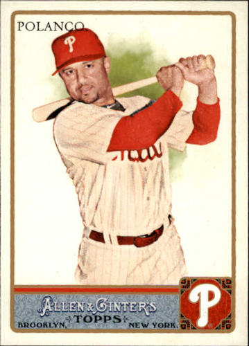 Photo of 2011 Topps Allen and Ginter #99 Placido Polanco