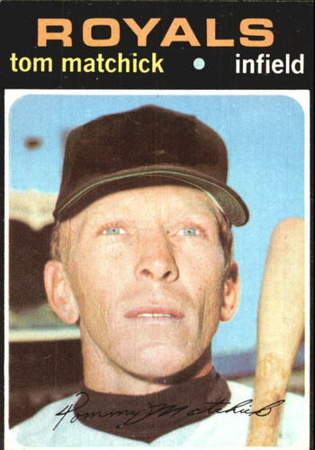 Photo of 1971 Topps #321 Tom Matchick