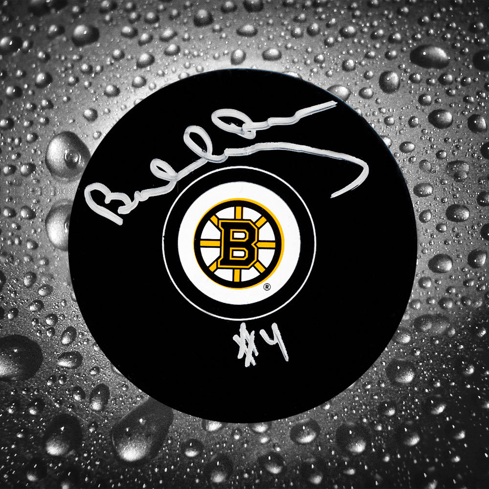 Bobby Orr Boston Bruins GNR COA Autographed Puck
