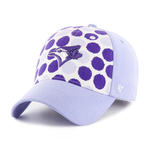Toronto Blue Jays Youth Dripz Lavender Adjustable Cap by '47 Brand