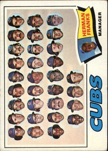 Photo of 1977 Topps #518 Chicago Cubs CL/Herman Franks MG
