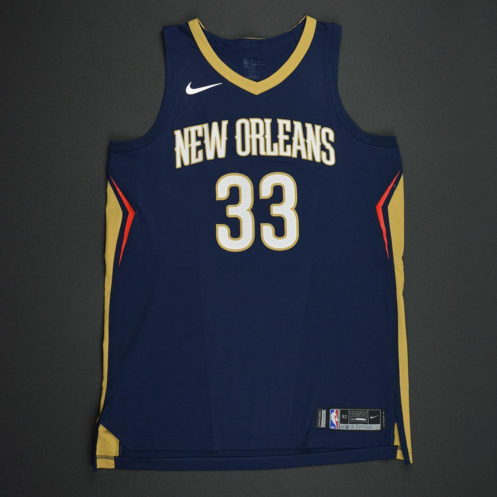 Dante Cunningham - New Orleans Pelicans - Kia NBA Tip-Off 2017 - Game-Worn Jersey - Worn During 3 Games