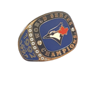 Toronto Blue Jays World Series Ring Lapel Pin by PSG