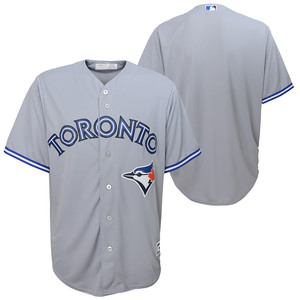 Toronto Blue Jays Youth Replica Road Jersey by Majestic