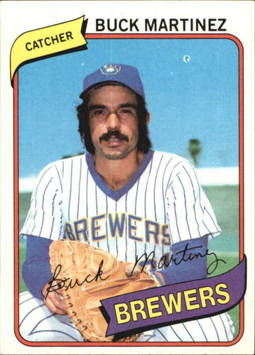 Photo of 1980 Topps #477 Buck Martinez