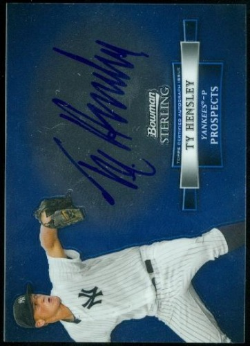 Photo of 2012 Bowman Sterling Prospect Autographs #TH Ty Hensley