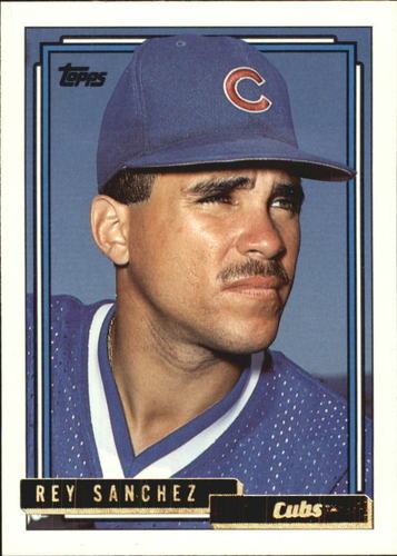 Photo of 1992 Topps Traded Gold #98T Rey Sanchez