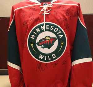 2014-15 Team Signed Red Replica Jersey