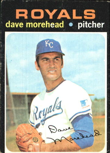 Photo of 1971 Topps #221 Dave Morehead