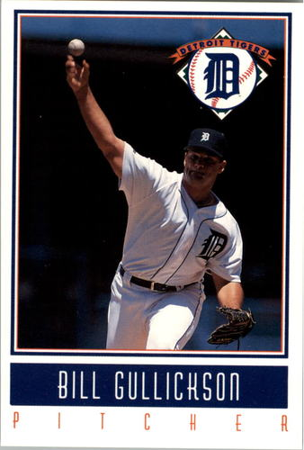 Photo of 1993 Tigers Gatorade #12 Bill Gullickson