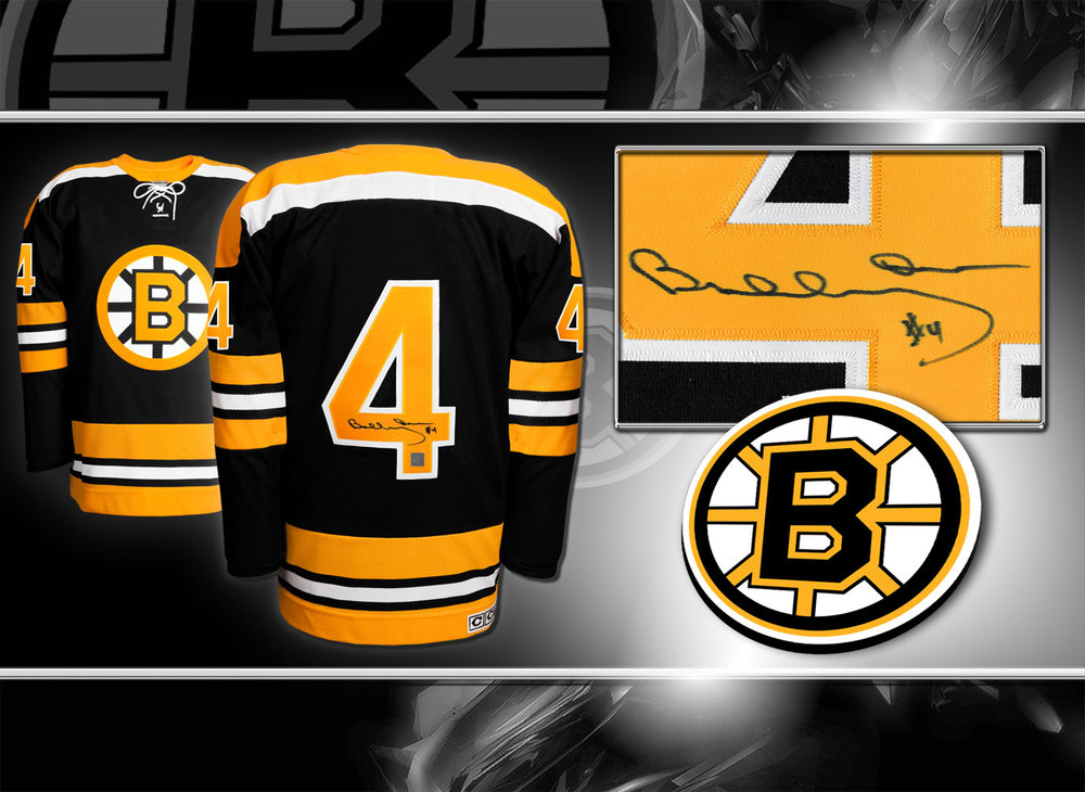 Bobby Orr Boston Bruins Mitchell & Ness Autographed Jersey GNR COA
