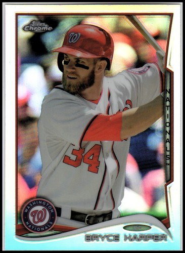 Photo of 2014 Topps Chrome Refractors #150 Bryce Harper