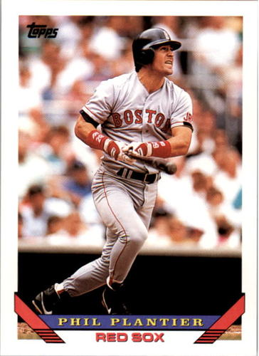 Photo of 1993 Topps #592 Phil Plantier