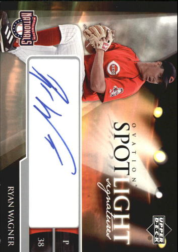 Photo of 2006 Upper Deck Ovation Spotlight Signatures #RW Ryan Wagner AUTO