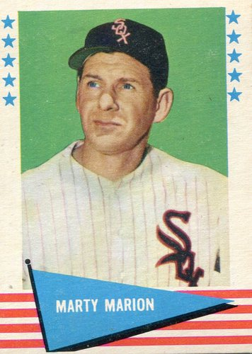 Photo of 1961 Fleer #58 Marty Marion