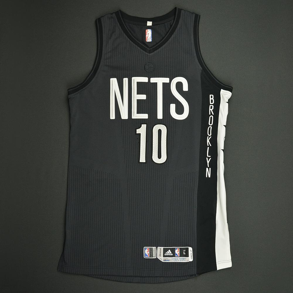 Yogi Ferrell - Brooklyn Nets - Game-Worn Rookie Debut Jersey - 2016-17 Season