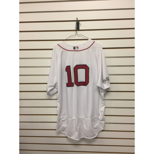 Gary Disarcina Game-Used April 3, 2017 Home Jersey
