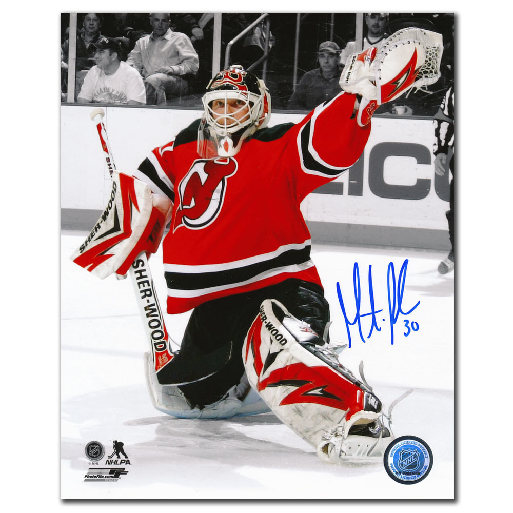 Martin Brodeur New Jersey Devils SPOTLIGHT Autographed 8x10