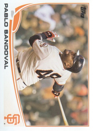 Photo of 2013 Topps #456A Pablo Sandoval