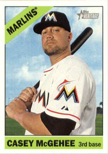 Photo of 2015 Topps Heritage #509 Casey McGehee