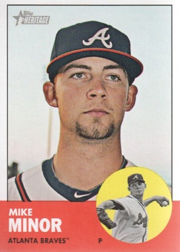 Photo of 2012 Topps Heritage #399 Mike Minor
