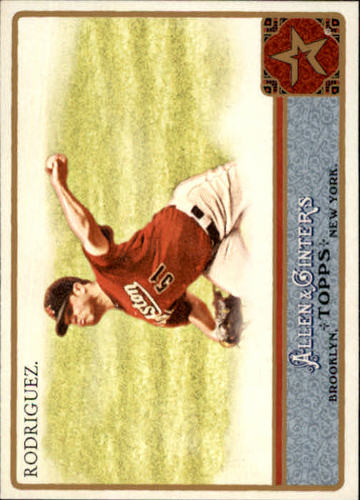 Photo of 2011 Topps Allen and Ginter #102 Wandy Rodriguez