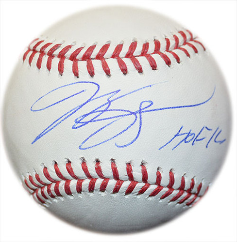 Photo of Mike Piazza - Autographed Major League Baseball - Inscribed