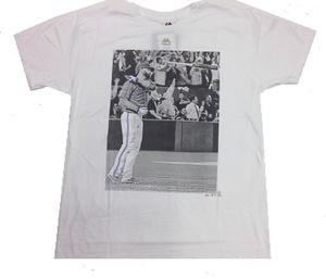 Men's Jose Bautista Bat Flip T-Shirt by Majestic
